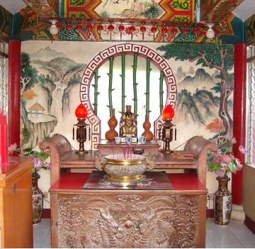 Small chapel of Taoist Temple Cebu